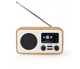 Radio Internet | DAB+/FM / Bluetooth® | Télécommande | Blanc/Bois