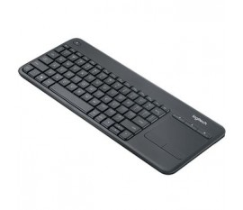 Clavier sans fil Standard USB US International Noir