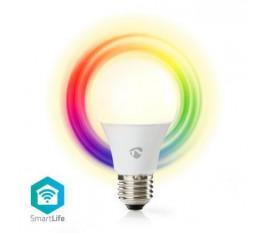 Ampoule LED Intelligente Wi-Fi | Pleine Couleur et Blanc Chaud | E27