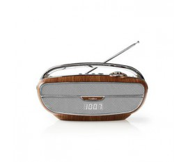 Radio FM | 60 W | Bluetooth® | Marron/Argent