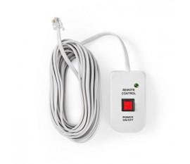 Télécommande de Convertisseur d'Alimentation   pour Convertisseurs Sinusoïdaux Modifiés de Nedis   Câble de 5,00 m