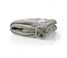 Couvre-lit Chauffant | 180 x 130 cm | 9 Réglages de Chaleur | Indicateur | Protection contre la Surchauffe