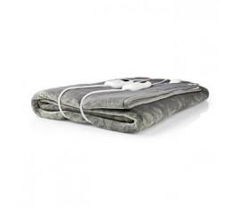 Couverture Chauffante | 160 x 140 cm | 9 Réglages de Chaleur | Indicateur | Protection contre la Surchauffe