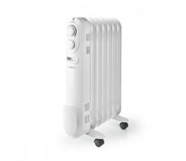 Radiateur à Huile Mobile | 1 500 W | Blanc