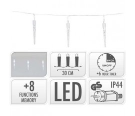 ICICLE LIGHTING | 40 LED | 6 METER LIGHTING | WHITE