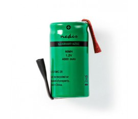 Batterie Nickel Métal-Hydrure | 1,2 V | 4 000 mAh | Connecteur à Souder