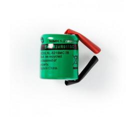 Batterie Nickel Métal-Hydrure   1,2 V   300 mAh   Connecteur à Souder