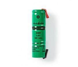 Batterie Nickel Métal-Hydrure   3,6 V   300 mAh   Connecteur à Souder