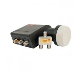 Tete LNB universelle Twin 0.2 dB