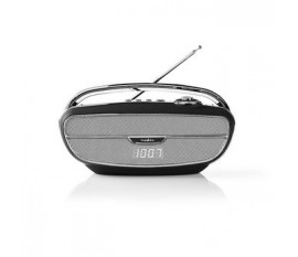 Radio FM   60 W   Bluetooth®   Noir/Argent