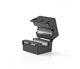 Filtre Ferrite Vidéo | 300 MHz | Compatible avec des Diamètres de Câble jusqu'à 12 mm | 25 pièces | Noir