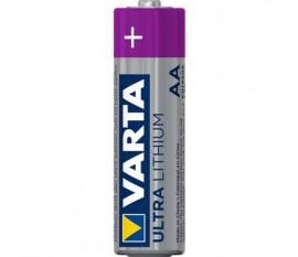 Pile au lithium AA-Plaquette