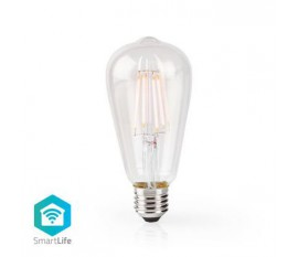 Ampoule à Filament LED Intelligente Wi-Fi | E27 | ST64 | 5 W | 500 lm