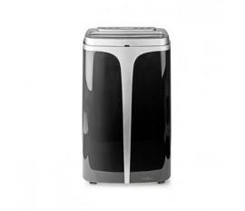 Système de climatisation mobile | 12 000 BTU | Classe d'énergie A | Télécommande | Fonction minuterie | Noir