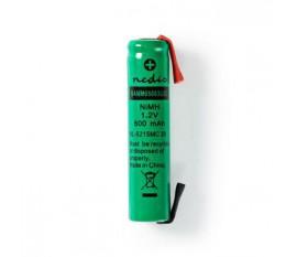 Batterie Nickel Métal-Hydrure | 1,2 V | 600 mAh | AAA | Connecteur à Souder
