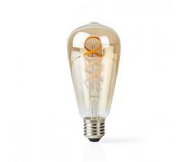 Ampoule à Filament LED Blanc Chaud à Blanc Froid Wi-Fi | Torsadée | E27 | ST64 | 5,5 W | 350 lm