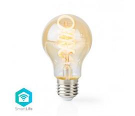 Ampoule à Filament LED Blanc Chaud à Blanc Froid Wi-Fi | Torsadée | E27 | A60 | 5,5 W | 350 lm