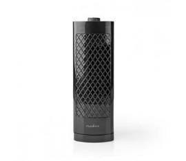 Ventilateur Colonne de Bureau   Hauteur 30 cm   3 Vitesses   Oscillation   Noir