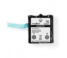 Batterie Nickel Métal-Hydrure | 4,8 V | 600 mAh