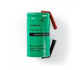 Batterie Nickel Métal-Hydrure | 1,2 V | 2 400 mAh | Connecteur à Souder