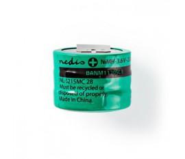 Batterie Nickel Métal-Hydrure   3,6 V   170 mAh   Connecteur à Souder