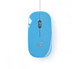 Souris Filaire | 1 000 ppp | 3 boutons | Bleu