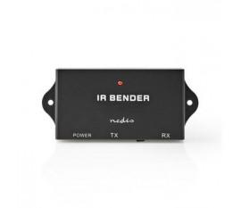 Répéteur de Télécommande IR Nedis | 30 - 60 KHz | Pour 3 appareils | Portée de 7,0 m | Noir