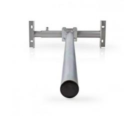 Support de Satellite pour Toit | Taille Maximale de l'Antenne Parabolique : 80 cm | Hauteur Maximale : 1,0 m | Acier