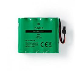 Batterie Nickel Métal-Hydrure | 4,8 V | 1 100 mAh | Connecteur Câblé