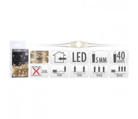 SILVERWIRE 40LED WW BO
