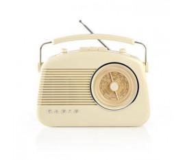 Radio FM | 4,5 W | Poignée de Transport | Ivoire