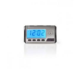 Horloge avec Caméra-Espionne | Vidéo 720 x 480 | Télécommande | Rechargeable