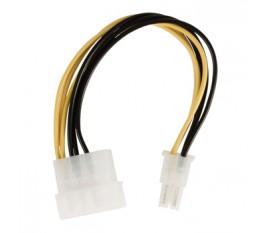 Câble d'alimentation interne Molex Mâle - PCI Express Mâle 0.15 m
