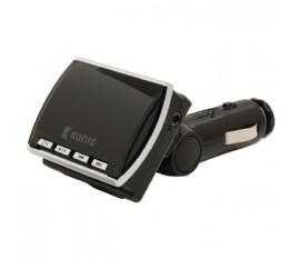 FM Transmetteur Audio 3.5 mm Noir