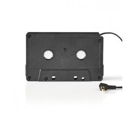 Adaptateur Cassette | 3,5 mm Mâle | Noir
