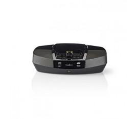 Boombox | 12 W | Bluetooth® | Lecteur de CD / Radio FM / USB / Aux | Noir