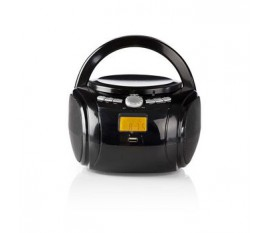 Boombox | 9 W | Bluetooth® | Lecteur de CD / Radio FM / USB / Aux | Noir