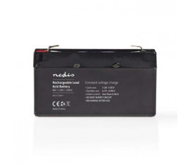 Batterie au Plomb-acide 6 V | 1200 mAh | 97 x 24 x 52 mm