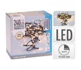 LED LIGHTS 240LED WARM WHITE