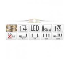 SILVERWIRE 20LED