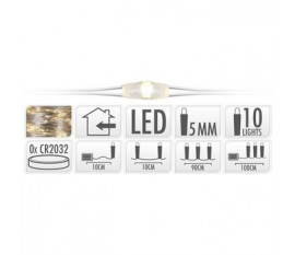 SILVERWIRE 10LED WW BO