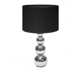 Lampe de table Fonction tactile 40 W Chromé / Noir
