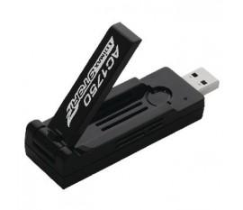 Adaptateur reseau Sans fil Adaptateur USB AC1200 Wi-Fi Noir
