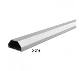 LCD plasma aluminium kabelgoot 110 / 5 cm