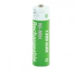 Batteries NiMH AA/LR6 1.2 V 1300 mAh 4-blister