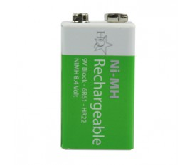 Batteries NiMH LR22 8.4 V 200 mAh 1-blister