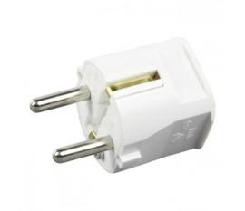 Power plug white
