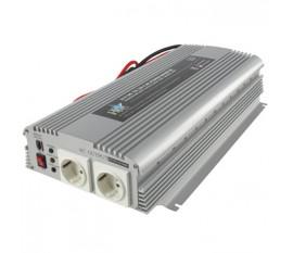 Inverter 24 - 230 V 1700 W 2x schuko