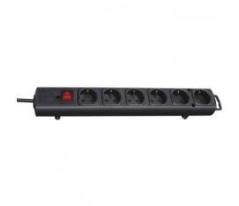Multi-way extension 6 sockets