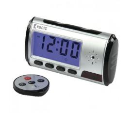 Horloge à caméra espion